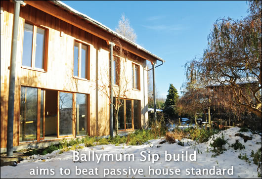 Ballymun Sip build to beat passive standard
