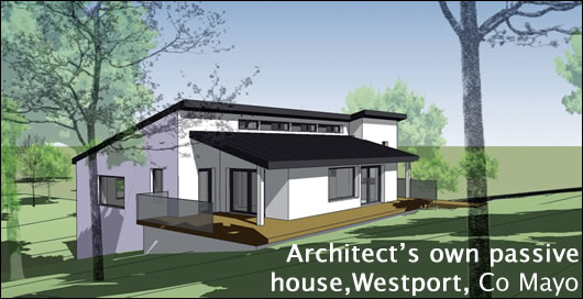 Architect's own passive house