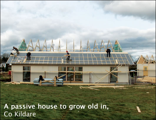 A passive house to grow old in