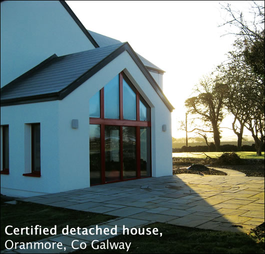 Certified detached house